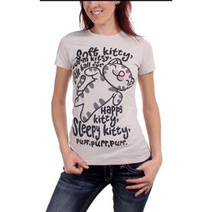 Big Bang Theory Soft Kitty Warm Kitty Graphic Tee